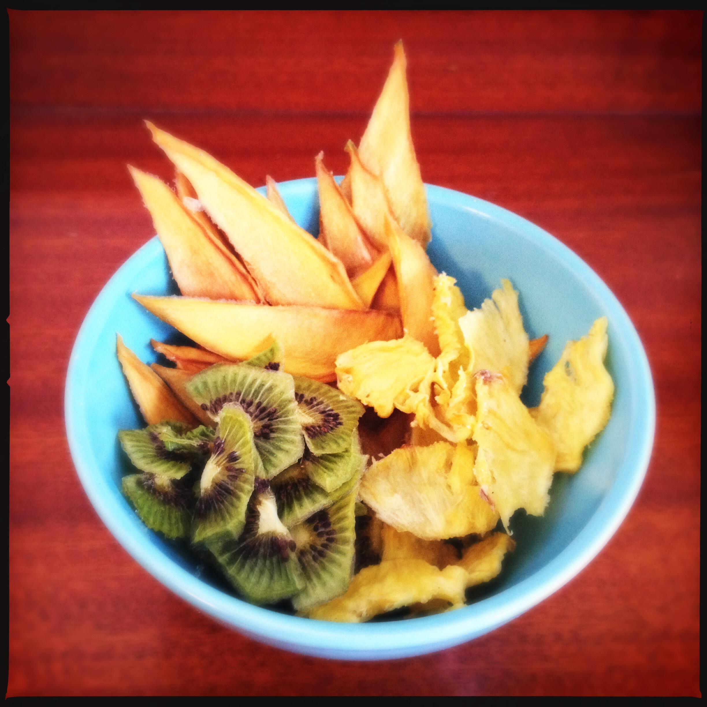 torkad ananas recept